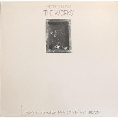 Alvin Curran LP - Works (Vinyl)