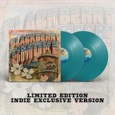Blackberry Smoke LP - You Hear Georgia (Teal Vinyl)