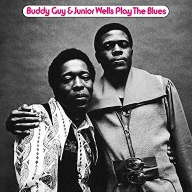 Buddy Guy & Junior Wells LP - Play The Blues (Feat. Eric Clapton) (Anniversary Edition) (Translucent Blue Vinyl)