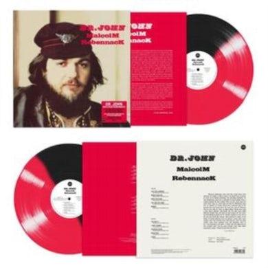 LP - Malcolm Rebennack (Red/Black Split Vinyl)