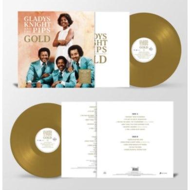 Gladys Knight LP - Gold (Gold Vinyl)