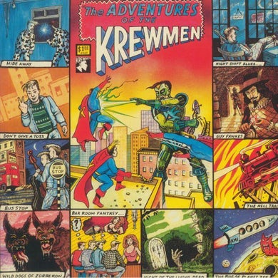 LP - The Adventures Of The Krewmen (+Poster)