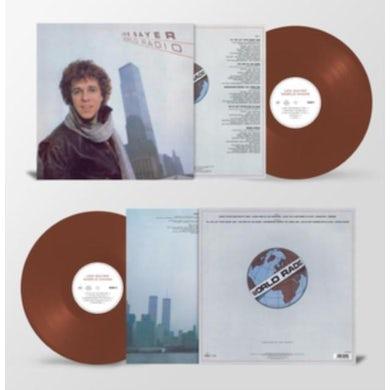 Leo Sayer LP - World Radio (Brown Vinyl)