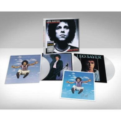 Leo Sayer LP - The Hollywood Years - 1976-1978 (Clear Vinyl) (Signed Edition)