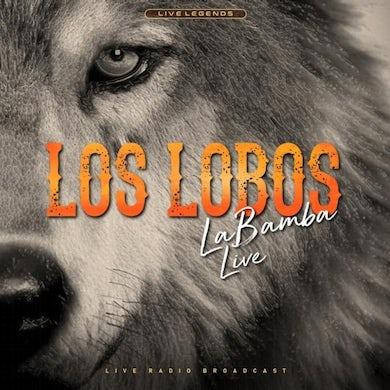 Los Lobos LP - La Bamba Live(Coloured Vinyl)