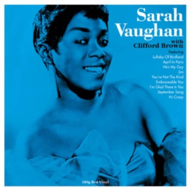 LP - Sarah Vaughan & Clifford Brown (Red Vinyl)