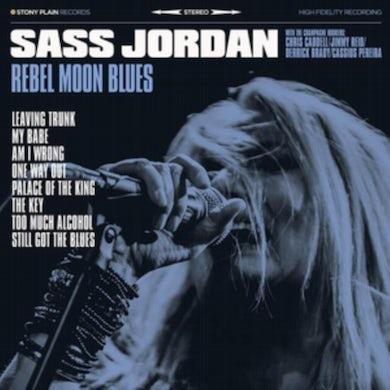 Sass Jordan LP - Rebel Moon Blues (Vinyl)