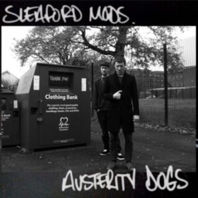 Sleaford Mods LP - Austerity Dogs (Neon Yellow Vinyl)
