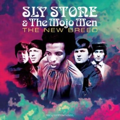 Sly Stone & The Mojo Men LP - The New Breed (Green Vinyl)