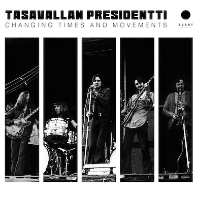 LP - Changing Times And Movements - Live In Finland And Sweden 1970-1971 (Vinyl)