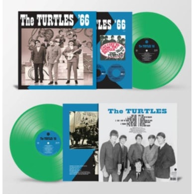 LP - The Turtles '66 (Green Vinyl)