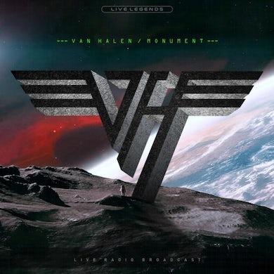 Van Halen LP - Monument (Red Vinyl)