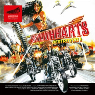 LP - The Wildhearts Must Be Destroyed (Vinyl)