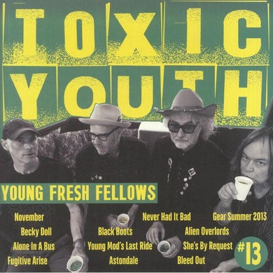 LP - Toxic Youth (Toxic Transparent Green Vinyl) (Fanzine-Style Packaging & Booklet) (RSD 2020)