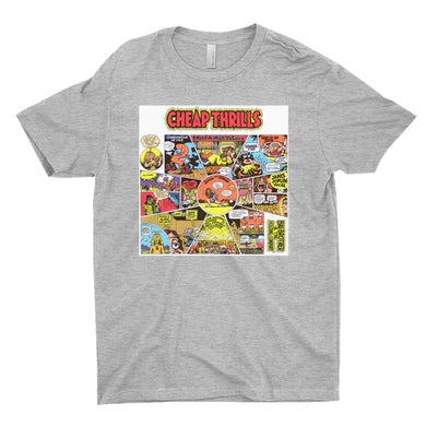 T-Shirt   Cheap Thrills Big Brother and The Holding Company Shirt