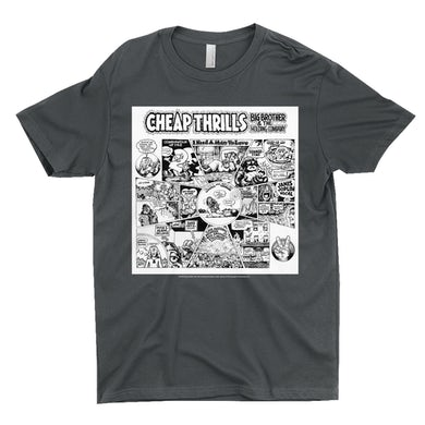 T-Shirt   Cheap Thrills B&W Big Brother and The Holding Company Shirt