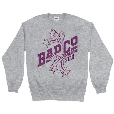 Bad Company Sweatshirt   Shooting Star In Purple Bad Company Sweatshirt