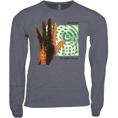 Genesis Long Sleeve Shirt | Invisible Touch Album Cover Genesis Shirt