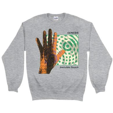 Genesis Sweatshirt | Invisible Touch Album Cover Genesis Sweatshirt