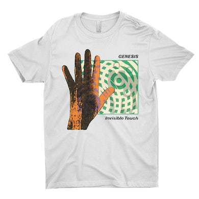 Genesis T-Shirt | Invisible Touch Album Cover Genesis Shirt