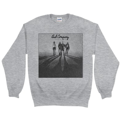 Bad Company Sweatshirt   Burnin' Sky Album Cover Bad Company Sweatshirt