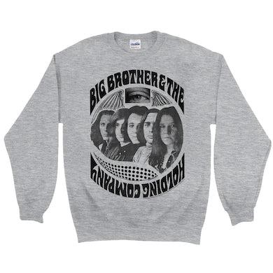 Big Brother and The Holding Co. Sweatshirt | Big Brother And The Holding Company Feat. Janis Joplin 1967 Poster Big Brother and The Holding Co. Sweatshirt