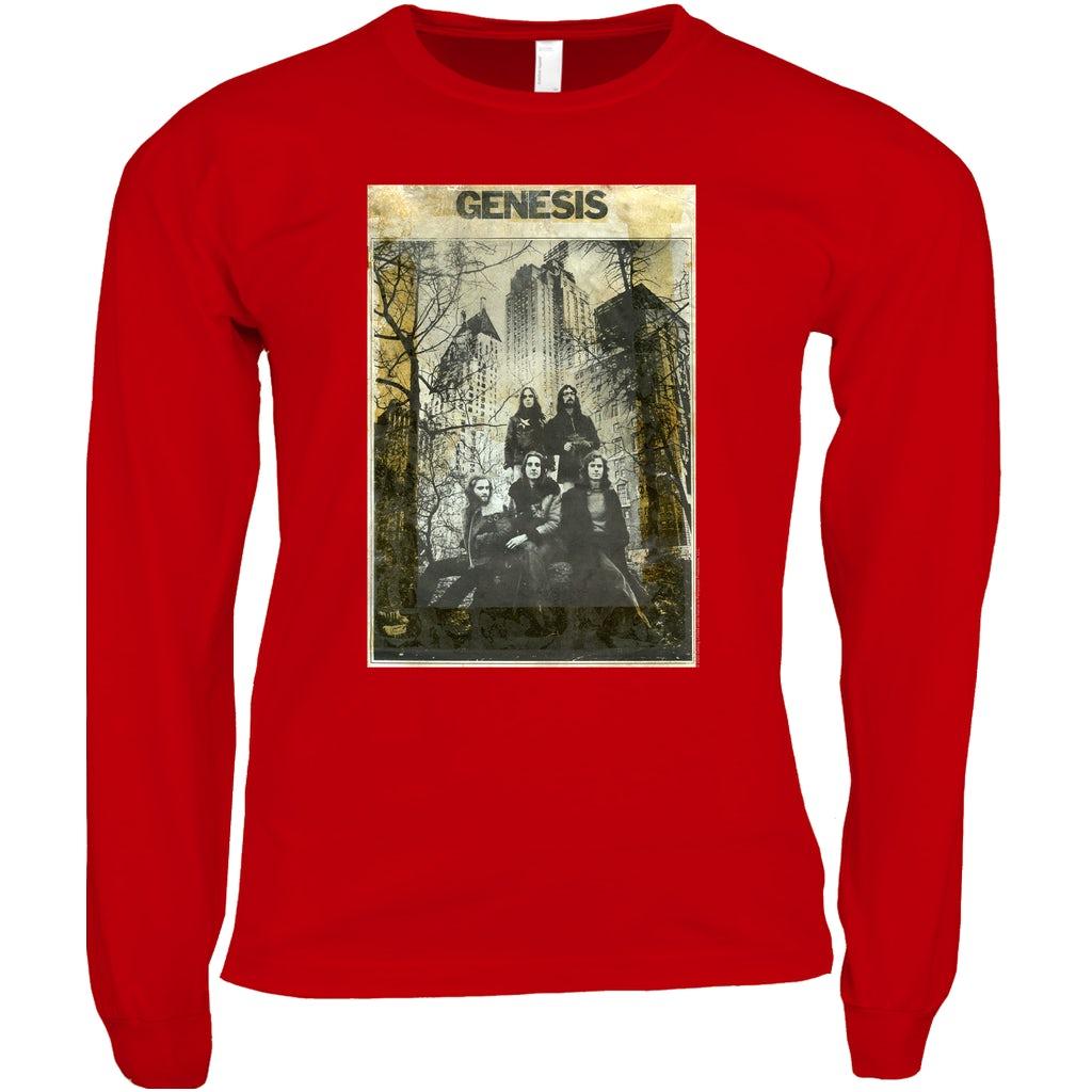 """Sweatshirt or Long Sleeve T-Shirt Genesis /""""Abacab/"""" Hoodie"""