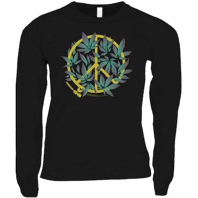 Woodstock Long Sleeve Shirt   Peace Plant Woodstock Shirt