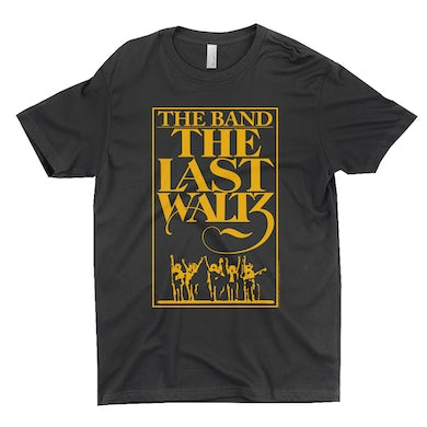 The Band T-Shirt | The Last Waltz Concert Poster The Band Shirt