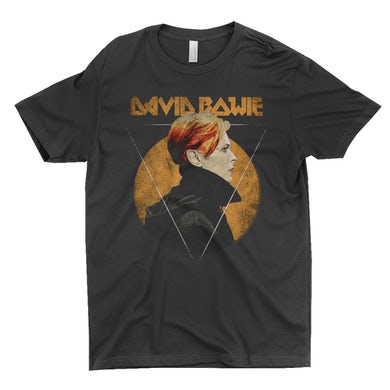 David Bowie T-Shirt | Low Album Art Design Distressed David Bowie Shirt
