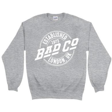 Bad Company Sweatshirt   Established 1973 London UK Logo Bad Company Sweatshirt