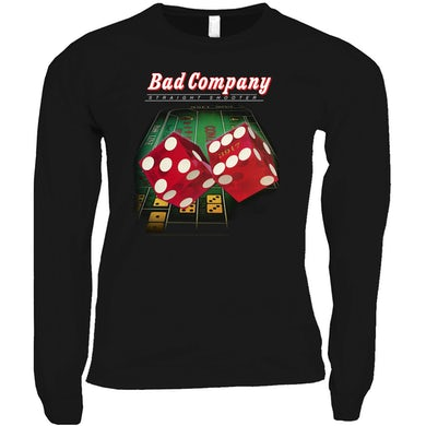 Bad Company Long Sleeve Shirt | Straight Shooter Album Cover Bad Company Shirt