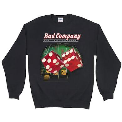 Bad Company Sweatshirt   Straight Shooter Album Cover Bad Company Sweatshirt