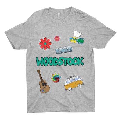 Woodstock T-Shirt | Woodstock Patches Design Woodstock Shirt