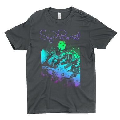 Syd Barrett T-Shirt | Syd Psychedelic Design Syd Barrett Shirt
