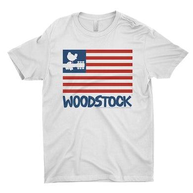 Woodstock T-Shirt   The Woodstock Flag Woodstock Shirt