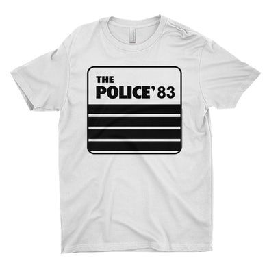 The Police T-Shirt | The Police 1983 Concert Tour The Police Shirt