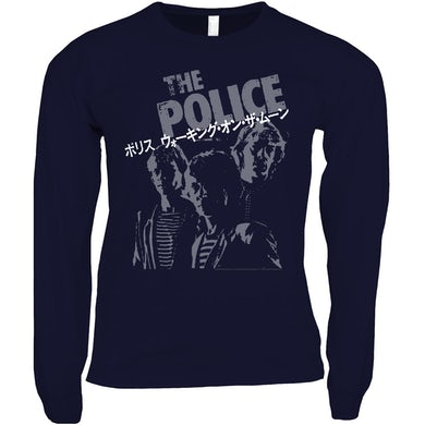 The Police Long Sleeve Shirt | The Police Japanese Promotion The Police Shirt