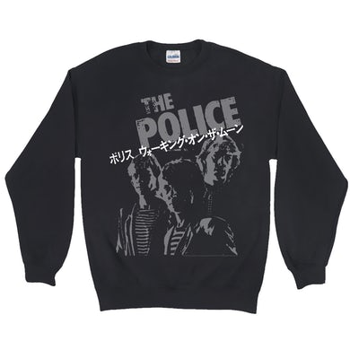 The Police Sweatshirt | The Police Japanese Promotion The Police Sweatshirt