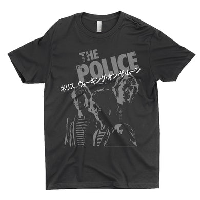 The Police T-Shirt | The Police Japanese Promotion The Police Shirt