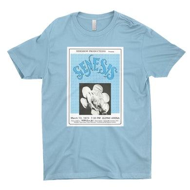 Genesis T-Shirt | Genesis And Lou Reed Concert Poster Genesis Shirt