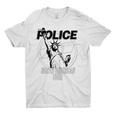 The Police T-Shirt | North American Tour 1983 The Police Shirt