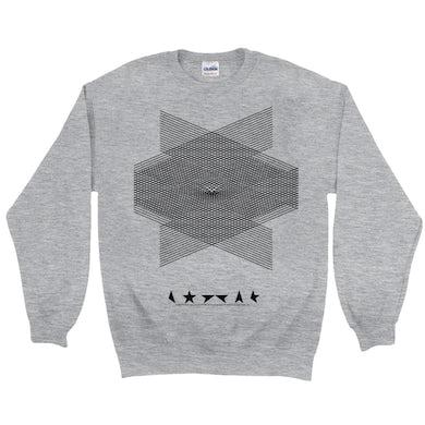 David Bowie Sweatshirt | Blackstar Album Design David Bowie Sweatshirt