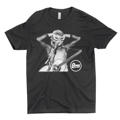 David Bowie T-Shirt | Hand Glasses In Concert David Bowie Shirt