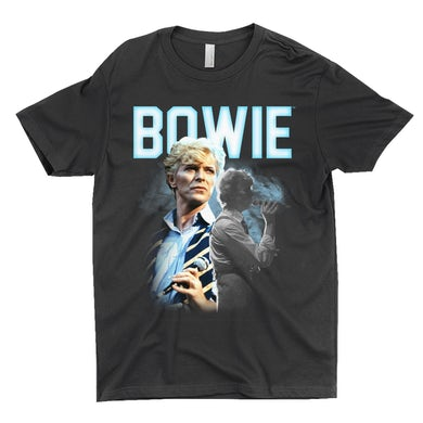 David Bowie T-Shirt | Bowie 1983 Concert Imagery David Bowie Shirt