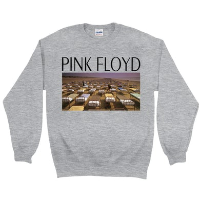 Pink Floyd Sweatshirt | A Momentary Lapse Of Reason Beds On Sea Shore Pink Floyd Sweatshirt