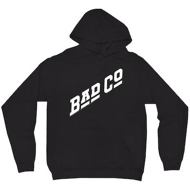 Bad Company Hoodie   Classic Bad Company Logo White Bad Company Hoodie