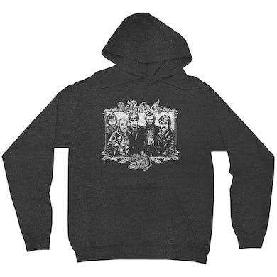 The Band Hoodie | 50th Anniversary Logo White Distressed The Band Hoodie