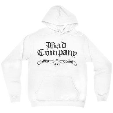 Bad Company Hoodie   Earl's Court 1977 Concert Bad Company Hoodie
