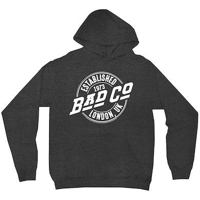 Bad Company Hoodie   Established 1973 London UK Logo Bad Company Hoodie